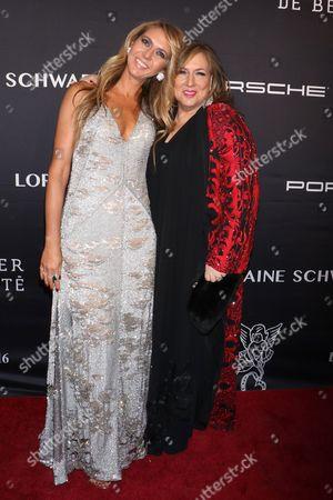 Lorraine Schwartz (R) and sister Ofira Sandberg (L)