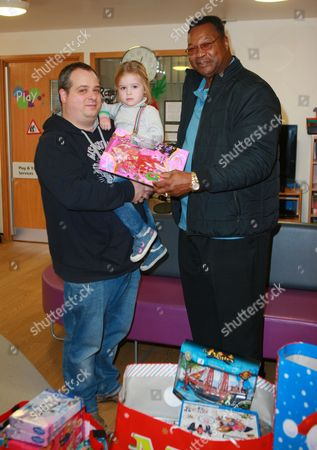 Larry Holmes and fans
