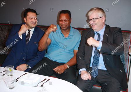 Larry Holmes and guests