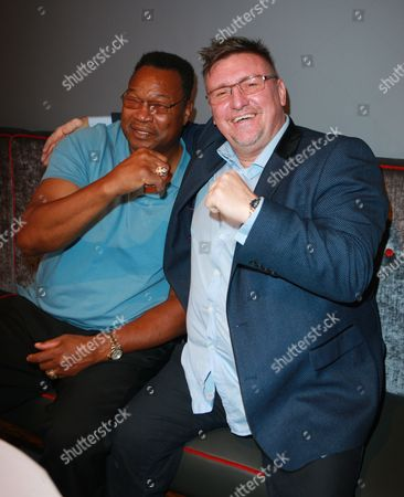 Larry Holmes and guest