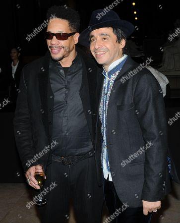Joeystarr and Ariel Wizman