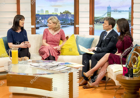 Rachel Reeves and Tracey Brabin with Ben Shephard and Susanna Reid