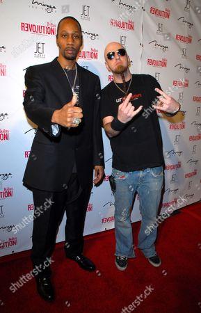 RZA and Shavo Odadjian
