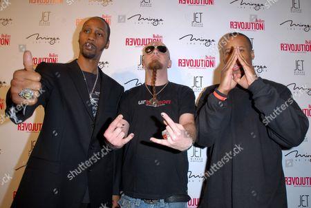 RZA, Shavo Odadjian and Kinetic