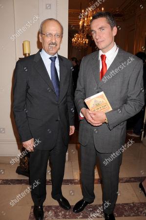 The Egyptian Ambassador, Gehad Madi and Rowan Somerville