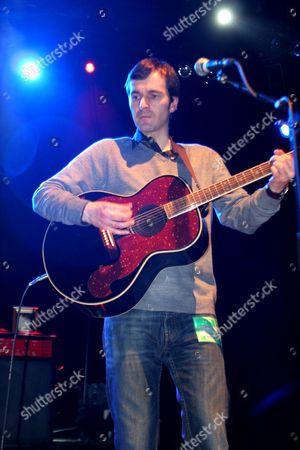 Editorial image of Mark Morriss in concert at Shepherds Bush Empire, London, Britain - 28 Mar 2008