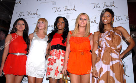 Aundrea Fimbres, Shannon Bex, Dawn Richard, Aubrey O'Day, and D. Woods