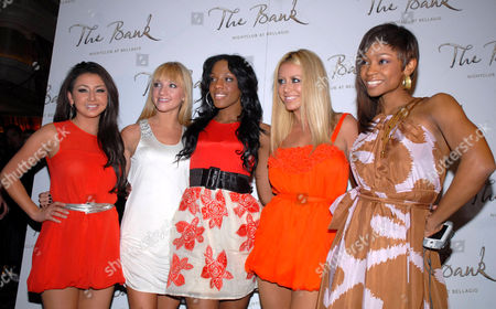 Editorial picture of Danity Kane appear at The Bank nightclub in Las Vegas, America - 28 Mar 2008