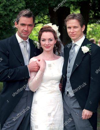 'Heartbeat'   TV Richard Lintern, Aislin McGucking and Jonathan Kerrigan. The Wedding of Merrick and Norton