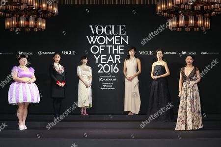 Editorial picture of 12th Vogue Japan Women of the Year 2016 Awards, Tokyo, Japan - 24 Nov 2016
