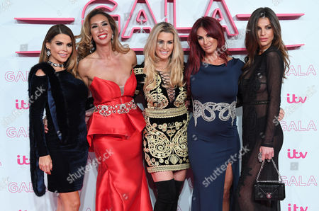 Stock Picture of Tanya Bardsley, Ampika Pickston, Leanne Brown, Lauren Simon and Misse Beqiri