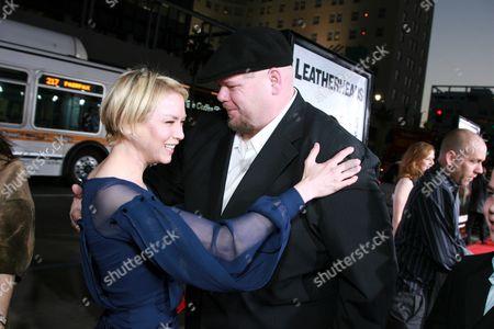 Renee Zellweger and Keith Loneker