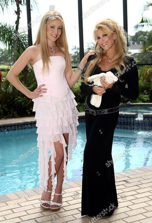 Audrey Landers and niece Kristy