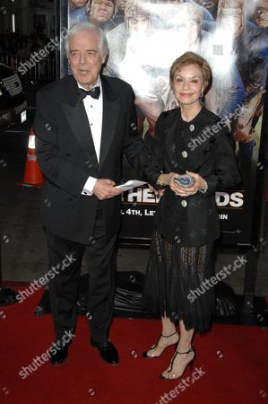 Nick Clooney and wife Nina Warren