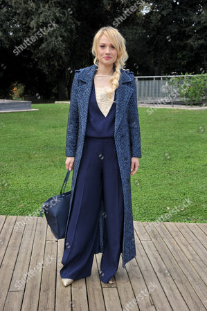 Chiara Mastalli wearing a Dress Twin Set