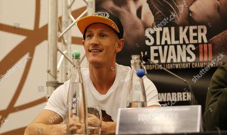 Editorial photo of Thomas Stalker v Craig Evans, WBO European Lightweight Title press conference - 24 Nov 2016
