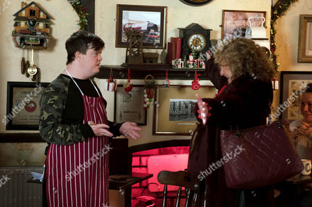 Nessa, as played by Sadie Shimmin, is back Cathy Matthews, as played by Melanie Hill, and Alex, as played by Liam Bairstow, are not pleased. (Episode 9049 - Mon 5th Dec 2016)