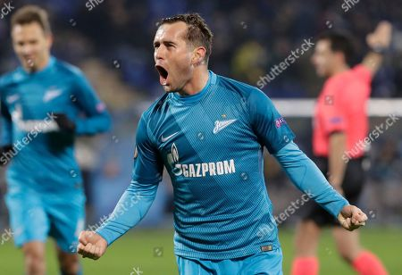 Editorial picture of Zenit St.Petersburg v Maccabi Tel Aviv, Europa League Group D football match, St.Petersburg, Russian Federation - 24 Nov 2016