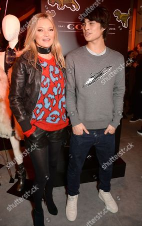 Editorial image of Coach House launch at Regent Street, London, UK - 24 Nov 2016
