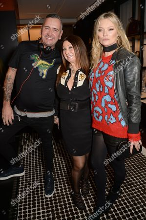 Fat Tony, Fran Cutler and Kate Moss