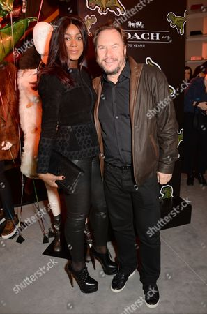 Stock Photo of Phoebe Hitchcox and John Hitchcox