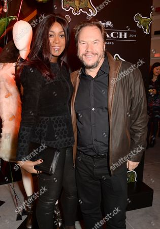 Stock Picture of Phoebe Hitchcox and John Hitchcox