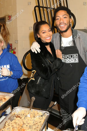 La La Anthony & Derrick Rose