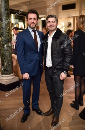 Editorial photo of Belstaff x Surf Air launch party, London, UK - 24 Nov 2016