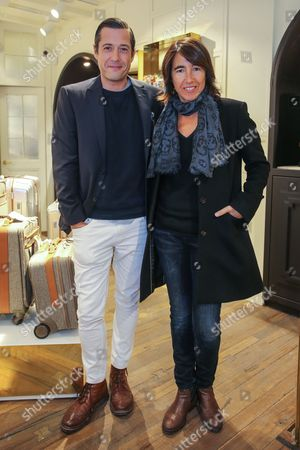 Stock Picture of Filipe Vargas and Gabriela Sobral