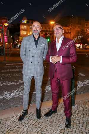 Stock Picture of Manuel Luis Goucha and Rui Oliveira