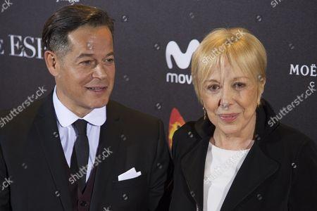 Jorge Sanz and Rosa Maria Sarda