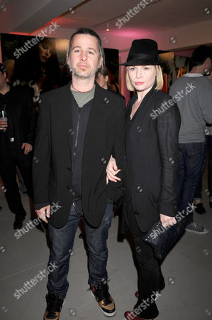 Jason Starkey and partner, Flora Evans