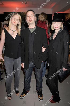 Lee Starkey, Jason Starkey and wife, Flora Evans