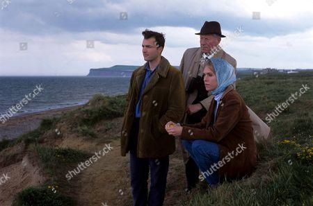 'Heartbeat'   TV Pc Nick Rowan [Nick Berry], Frank Armstrong [John Woodvine], Jill Criddle [Clara Salaman]
