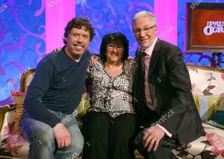 Sean Gilder and Alice Barry with Paul O'Grady