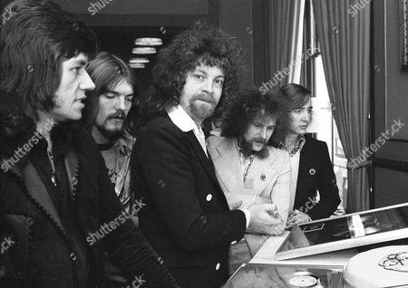 ELO - Bev Bevan, Hugh McDowell, Jeff Lynne, Kelly Groucut and Melvyn Gale