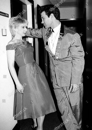 Julee Cruise and Chris Isaak
