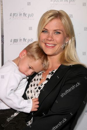 Alison Sweeney and son Benjamin Edward Sanov