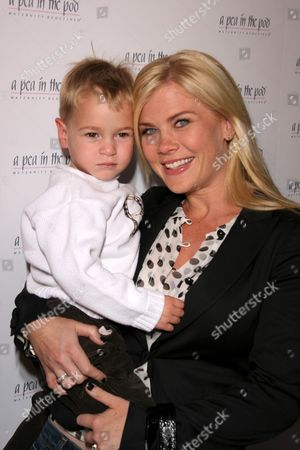 Alison Sweeney and son Benjamin Edward Sanov