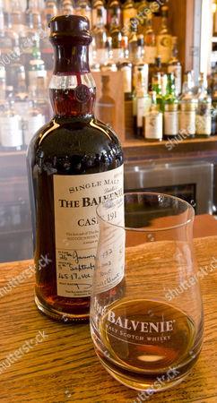 Fifty-year-old Balvenie single malt scotch whisky