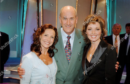 Russ Abbot, with Diane Keen (left) and Carol Vorderman in 'Star Lives'