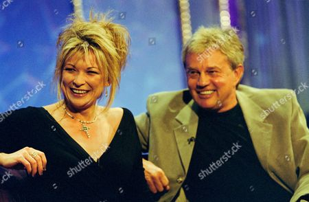 Claire King and Frazer Hines in 'Star Lives'