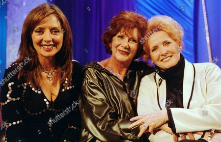 L-R.Carol Vorderman, Anne Charleston and Millicent Martin in 'Star Lives'
