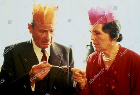 'Poirot'  - 'The Theft of the Royal Ruby' - Frederick Treves as Colonel Lacey and Stephanie Cole as Mrs Lacey.