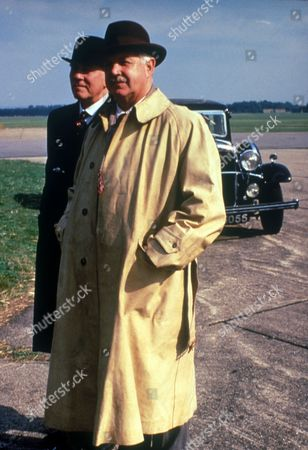 'Poirot'  - 'The Incredible Theft' - John Stride as Tommy Mayfield and John Carson as Sir George Carrington
