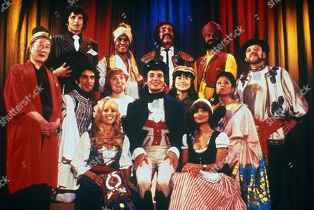 'Mind Your Language' - Barry Evans and cast