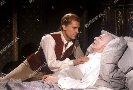 'Number 10'  - William Pitt the Younger [Jeremy Brett] and Pitt the elder[Alfred Burke]