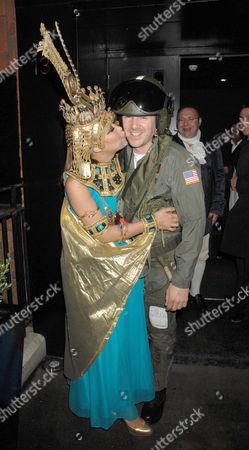 Myleene Klass kissing partner Graham Quinn