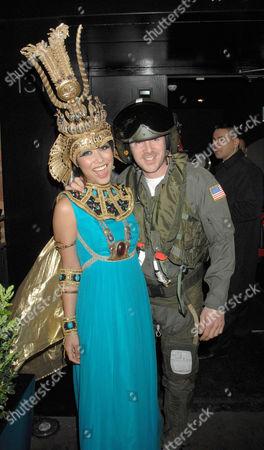 Myleene Klass and partner Graham Quinn