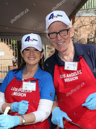 Editorial picture of LA Mission's Annual Thanksgiving for the Homeless, Los Angeles, USA - 23 Nov 2016